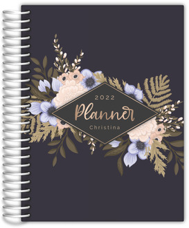 Soft Floral Arrangements Daily Planner