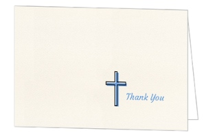 Simple Blessings Thank You Card