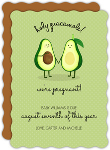 Pregnant Avocado Pregnancy Announcement