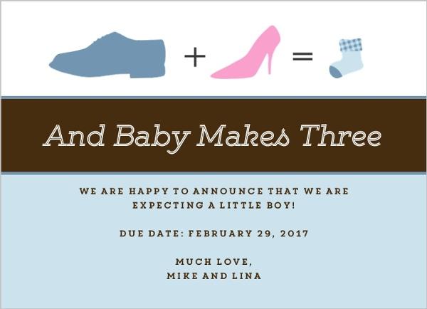 shoes silhouettes pregnancy announcement pregnancy announcement cards