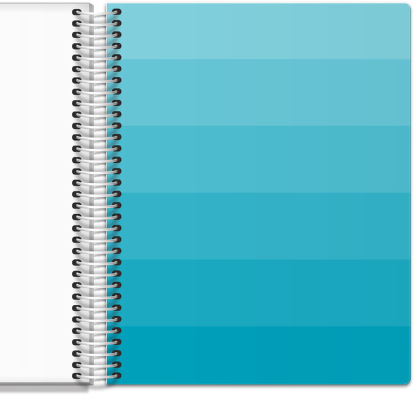 Blue Ombre Mom Planner