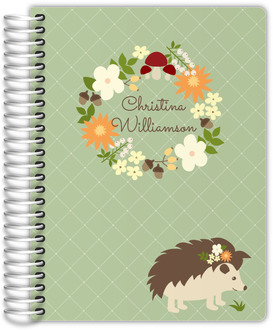 Hedgehog Wreath Planner