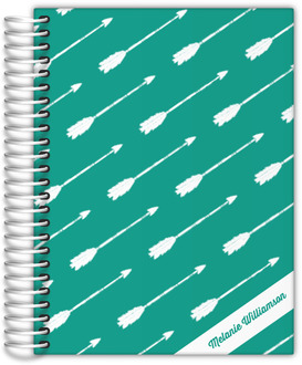 Arrow Pattern Custom Planner