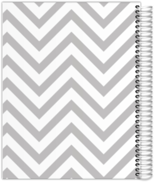 Simply Chevron Custom Journal