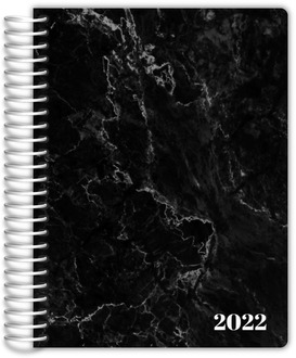 Black Marble Custom Journal