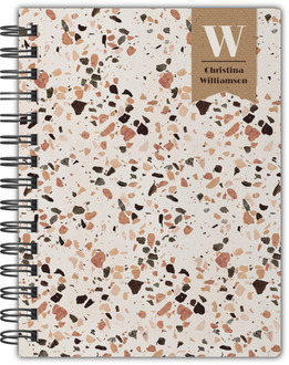 Crushed Quartz Pattern Notebook
