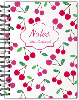 Sweet Cherries Notebook