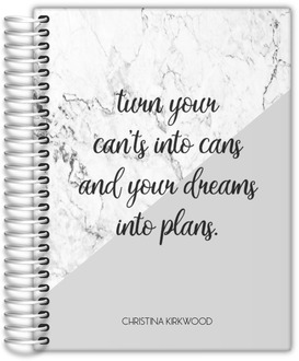Dreams Into Plans Daily Planner