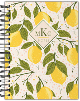 Lemon Vine Notebook