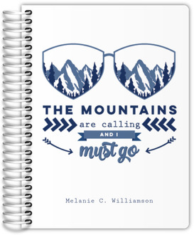 Mountains Are Calling Custom Journal