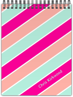Lovely Stripes Notebook