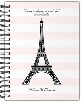 Pretty in Paris Notebook