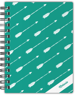 Arrow Pattern Custom Notebook