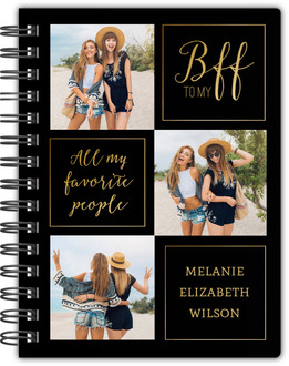 Photo & Quote Custom Notebook