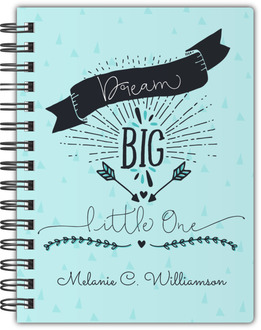 Dream Big Custom Notebook