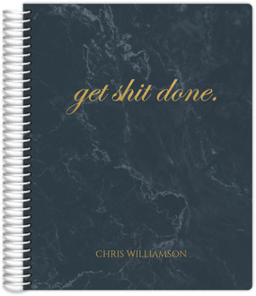 Marbled Get It Done Daily Planner