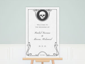 Ouija Frame Wedding Poster