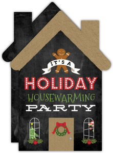 Holiday Housewarming Party Invitation Card