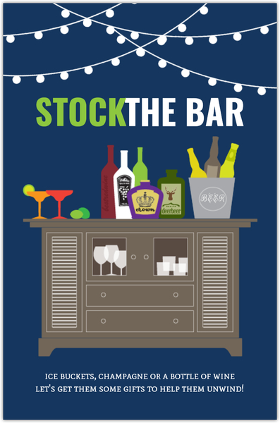 Stock The Bar Housewarming Party Invitation Housewarming Invitations