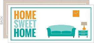 Modern Home Sweet Home Housewarming Party Invitation