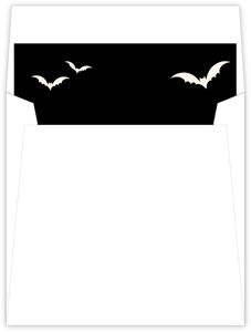 Ornamental Decor Halloween Envelope Liner
