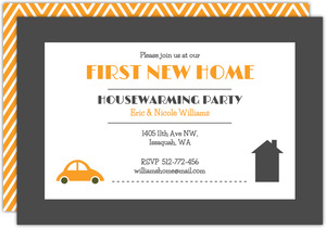 First New Home Housewarming Party Invitation