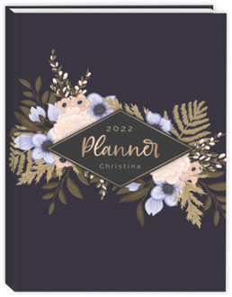 Soft Floral Arrangements Sewn Daily Planner