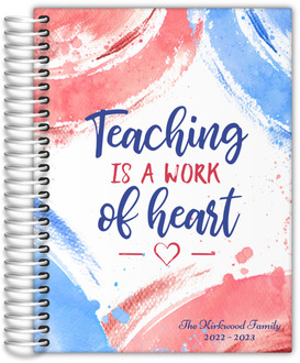 Fun Brush Strokes Homeschool Planner