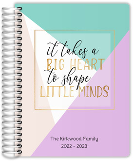 Big Heart Little Minds Homeschool Planner
