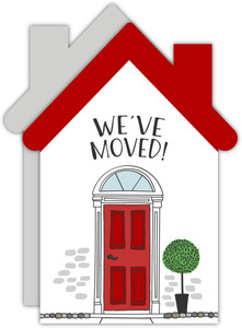 Red Door House Moving Announcement