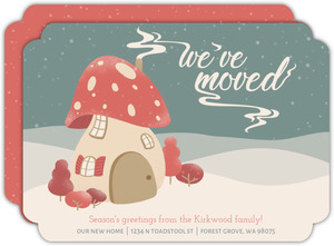 Snowy Toadstool Moving Announcement