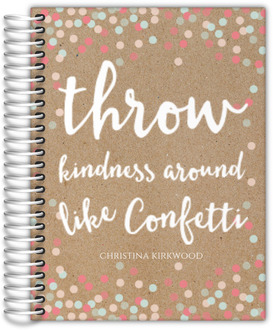Kindness Confetti Custom Planner