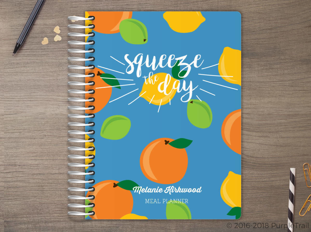 Fresh Citrus Meal Planner