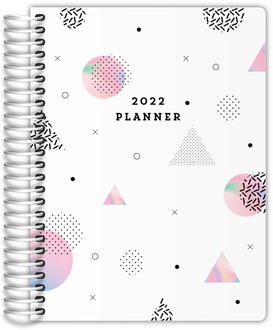 Holographic Shapes Daily Planner