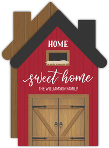 Rustic Barn House Moving Announcement