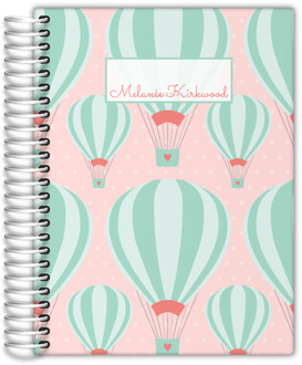 Whimsical Hot Air Balloon Journal