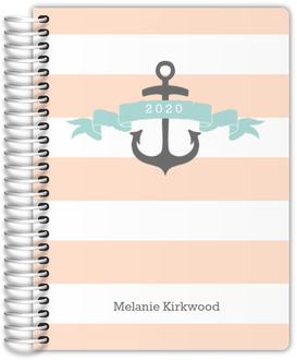 Nautical Anchor Custom Journal