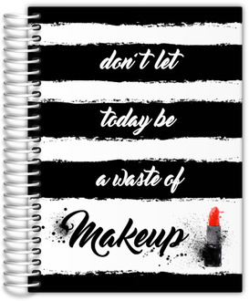 Black & White Makeup Custom Planner