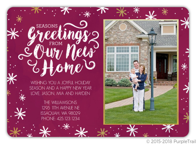 Seasons greetings new home moving announcement holiday moving seasons greetings new home moving announcement m4hsunfo