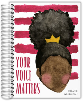 Your Voice Matters Custom Journal