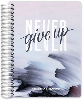Never Give Up Student Planner