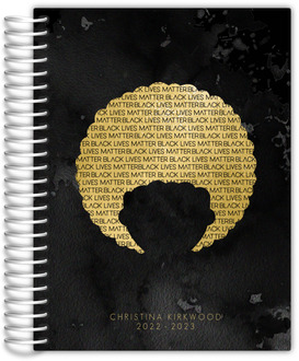 Golden Curls Daily Planner