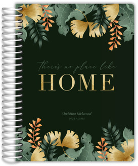 No Place Like Home Tropical Real Estate Planner