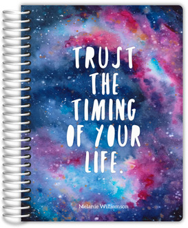 Watercolor Galaxy Academic Planner