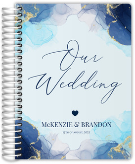 Blue Ink Art Wedding Planner