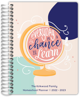 Chance To Learn Globe Homeschool Planner