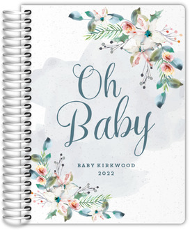 Floral Foliage Pregnancy Planner