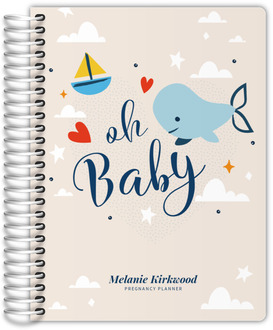 Oh Baby Whale Pregnancy Planner