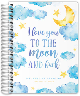 Love You To The Moon Pregnancy Planner