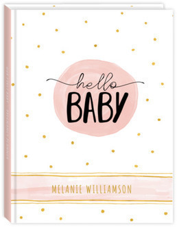 Hello Baby Polka Dot Mom To Be Planner